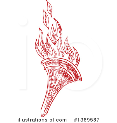 Torch Clipart #1389587 by Vector Tradition SM