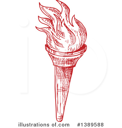 Torch Clipart #1389588 by Vector Tradition SM