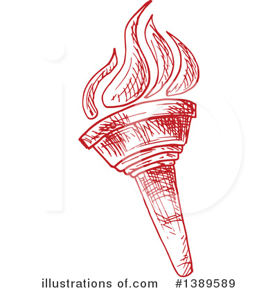 Torch Clipart #1389589 by Vector Tradition SM