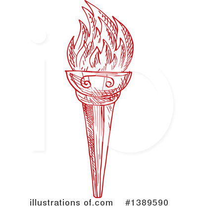 Torch Clipart #1389590 by Vector Tradition SM