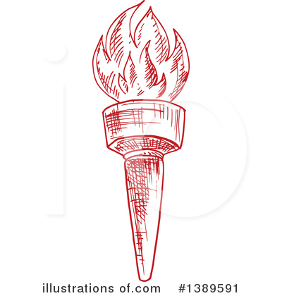 Torch Clipart #1389591 by Vector Tradition SM