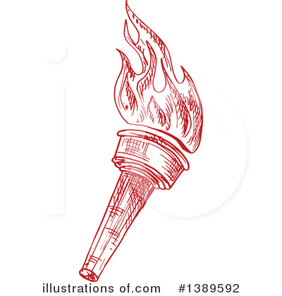 Torch Clipart #1389592 by Vector Tradition SM