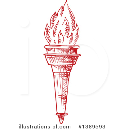 Torch Clipart #1389593 by Vector Tradition SM