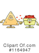 Tortilla Chip Clipart #1164947 by Cory Thoman