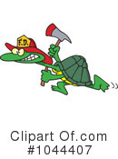 Royalty-Free (RF) Tortoise Clipart Illustration #1044407