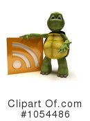 Royalty-Free (RF) Tortoise Clipart Illustration #1054486