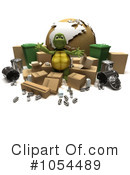 Royalty-Free (RF) Tortoise Clipart Illustration #1054489