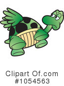 Royalty-Free (RF) Tortoise Clipart Illustration #1054563