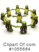 Royalty-Free (RF) tortoise Clipart Illustration #1055684