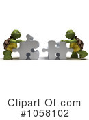 Tortoise Clipart #1058102 by KJ Pargeter