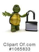 Royalty-Free (RF) tortoise Clipart Illustration #1065833