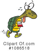 Royalty-Free (RF) Tortoise Clipart Illustration #1086518