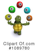 Royalty-Free (RF) Tortoise Clipart Illustration #1089780