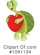 Royalty-Free (RF) Tortoise Clipart Illustration #1091134