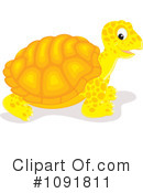 Royalty-Free (RF) Tortoise Clipart Illustration #1091811