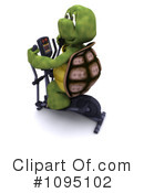 Royalty-Free (RF) Tortoise Clipart Illustration #1095102