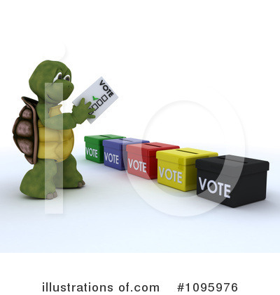 Voting Clipart #1095976 by KJ Pargeter