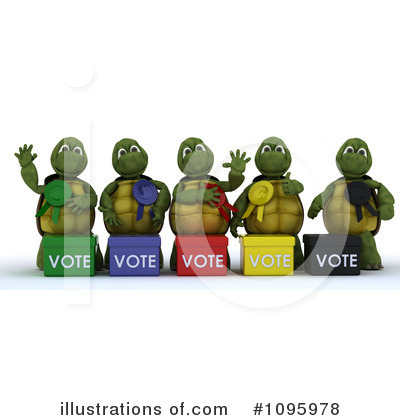 Voting Clipart #1095978 by KJ Pargeter