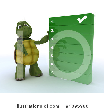 Tortoise Clipart #1095980 by KJ Pargeter