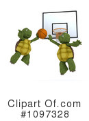 Royalty-Free (RF) tortoise Clipart Illustration #1097328