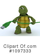 Royalty-Free (RF) tortoise Clipart Illustration #1097333