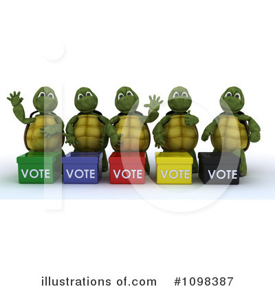 Voting Clipart #1098387 by KJ Pargeter
