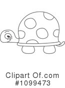 Royalty-Free (RF) tortoise Clipart Illustration #1099473