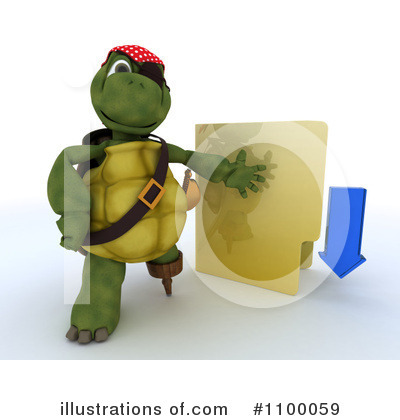 Tortoise Clipart #1100059 by KJ Pargeter