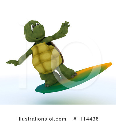 Surfer Clipart #1114438 by KJ Pargeter
