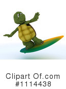 Royalty-Free (RF) Tortoise Clipart Illustration #1114438