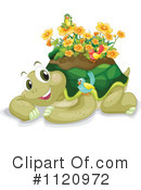 Royalty-Free (RF) Tortoise Clipart Illustration #1120972
