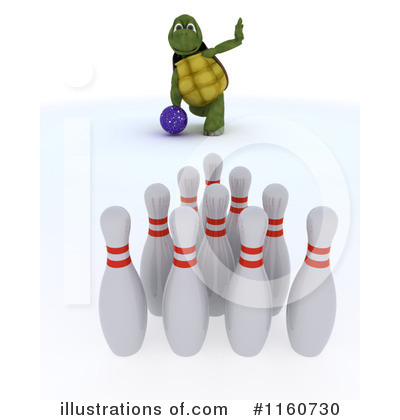 Bowling Clipart #1160730 by KJ Pargeter