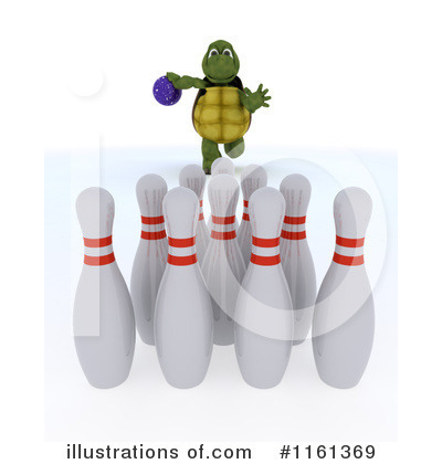Bowling Clipart #1161369 by KJ Pargeter