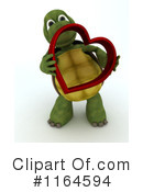 Royalty-Free (RF) Tortoise Clipart Illustration #1164594