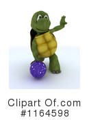 Royalty-Free (RF) Tortoise Clipart Illustration #1164598