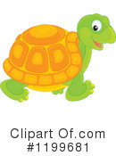 Tortoise Clipart #1199681 by Alex Bannykh