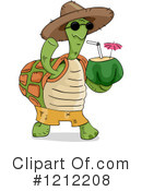 Royalty-Free (RF) Tortoise Clipart Illustration #1212208