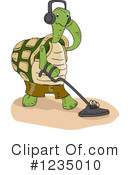 Royalty-Free (RF) Tortoise Clipart Illustration #1235010