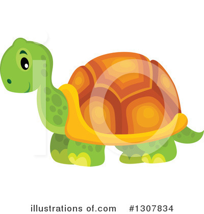 Turtle Clipart #1307834 by visekart