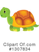 Royalty-Free (RF) Tortoise Clipart Illustration #1307834