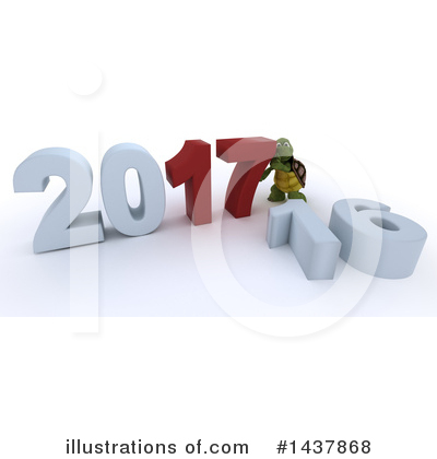 Royalty-Free (RF) Tortoise Clipart Illustration by KJ Pargeter - Stock Sample #1437868
