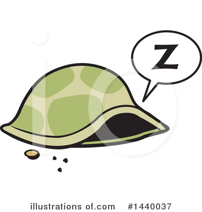 Sleeping Clipart #1440037 by Johnny Sajem