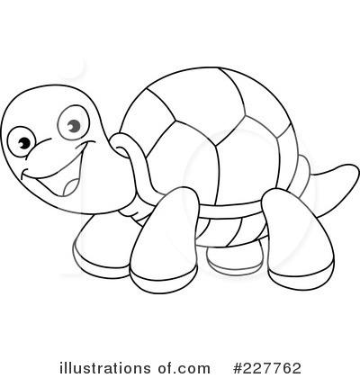 Tortoise Clipart Black...