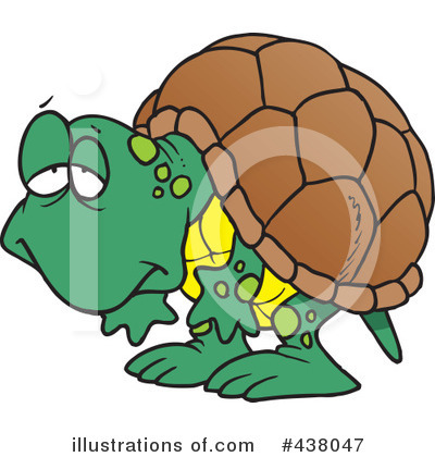 Turtle Clipart #438047 by toonaday