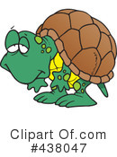 Royalty-Free (RF) Tortoise Clipart Illustration #438047