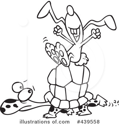 Turtle Clipart #439558 by toonaday