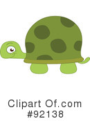 Royalty-Free (RF) Tortoise Clipart Illustration #92138