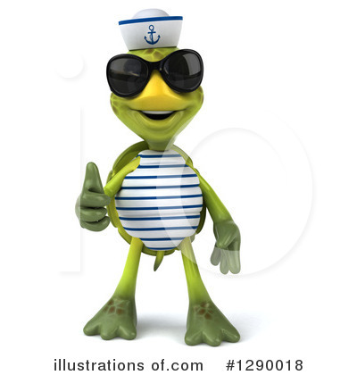 Tortoise Sailor Clipart #1290018 by Julos