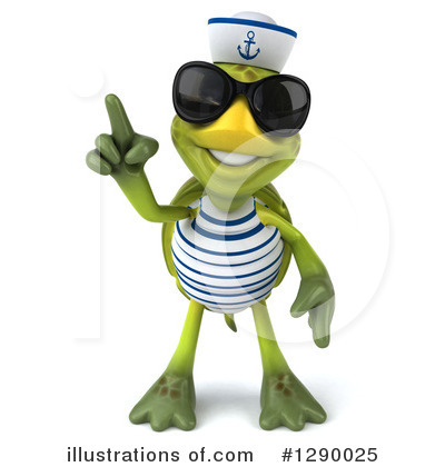Tortoise Sailor Clipart #1290025 by Julos