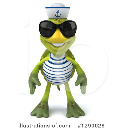 Tortoise Sailor Clipart #1290026 by Julos